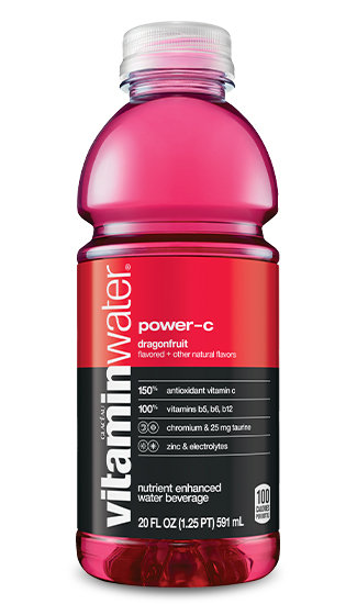 diet vitamin water nutrition facts